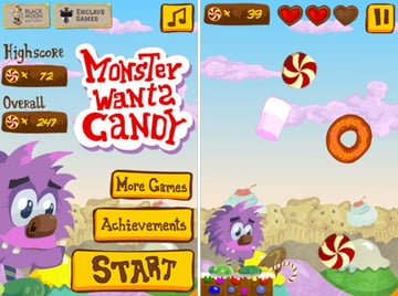 Monster Wants Candy full game
