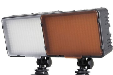 LED panels for photography and video are different from household LED light bulbs