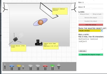 The new version of the Online Lighting Diagram Creator allows users to create labels