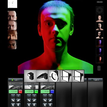 The Virtual Lighting Studio is a free virtual studio you can use to test your lighting setups and imagine new ones
