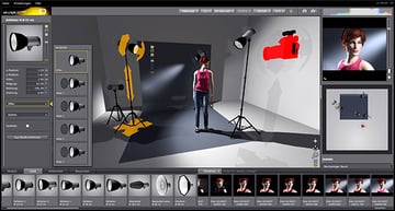 The setalight 3D program is a commercial diagram creator that takes the idea of creating diagrams to a more sophisticated level