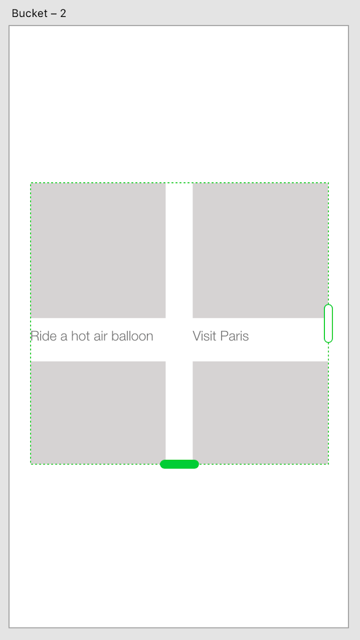 The Repeat Grid feature at work in Adobe XD