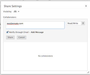 Adding collaborators to your document in Zoho Writer