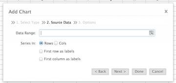Setting your graphs data range