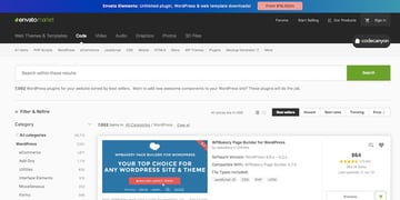 CodeCanyon WordPress plugins