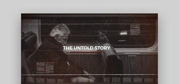 History Timeline -  After Effects Business Template