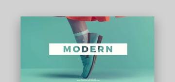 Modern Slideshow - After Effects Business Template