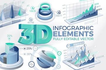3D Infographic Design Inspiration