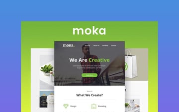 Moka - Newsletter Template Responsive