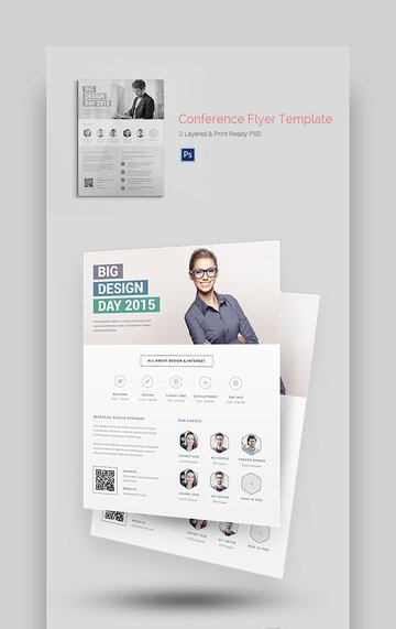 Conference Event - Professional Flyer Information Template