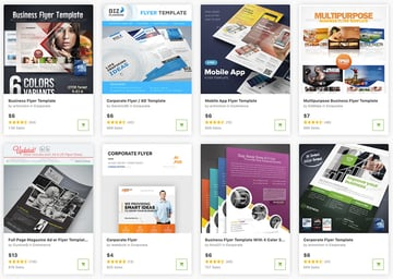 Best flyer design templates on GraphicRiver 2021