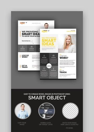 CorporateMarketing - Professional Flyer Design Set