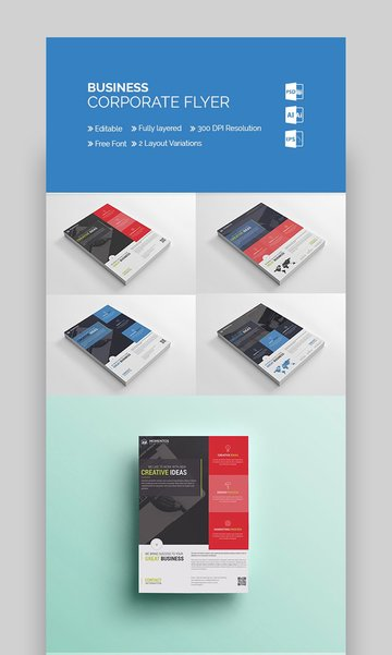 MomentStudio - Corporate Business Advertising Flyer