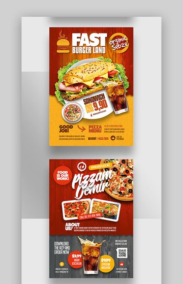Restaurant - FB Industry Specific Business Flyers Example