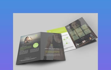 Brochure One of the InDesign brochure templates that is trending in 2019
