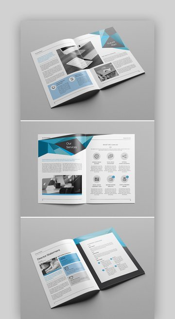 The Brochure - INDD Print Template