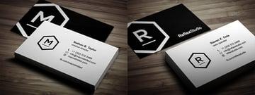 Featured Logo Creative Business Card Template