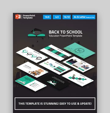 Back to School - Presentation for Education