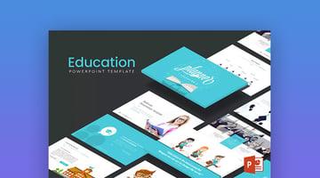 Simple Education PowerPoint Presentation Slides