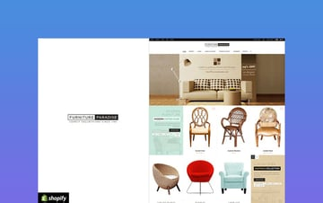 Furniture Paradise fullscreen theme