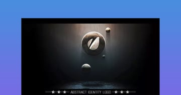 Abstract - 3d Logo Reveal After Effects