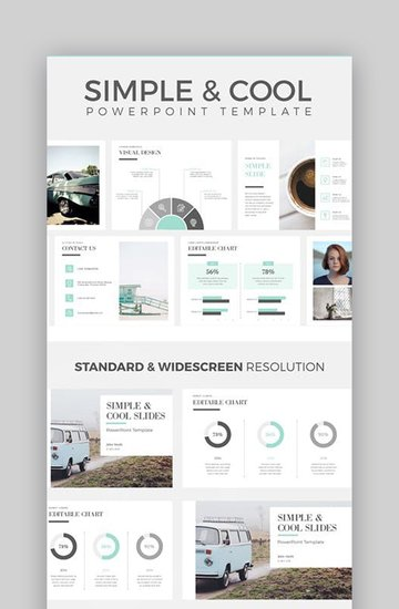 Simple Cool PowerPoint Slides