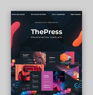 ThePress - Animated Powerpoint Template