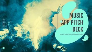 Music App Pitch Deck Presentation