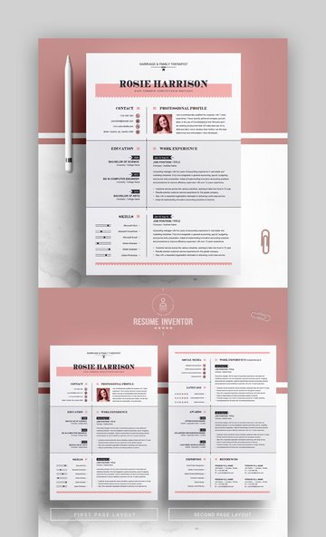Modern Resume Examples 2020