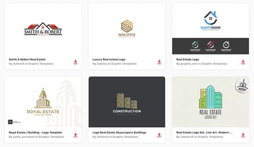Best Real Estate Logos on Envato Elements With Unlimited Use