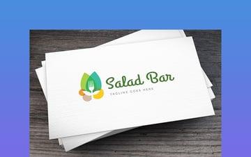 Salad Bar Logo Design