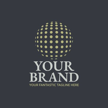 Globe Logo Design for Consulting Company