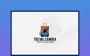 Travel Camera Logo Design