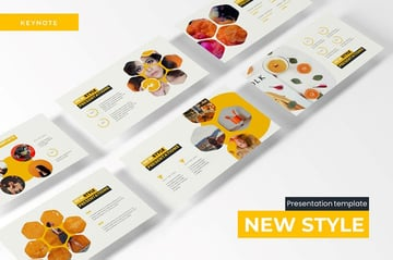 New Style PowerPoint Template helps you use your brand colors boldly