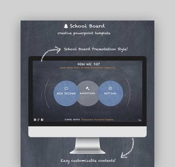 School Board - Creative PowerPoint Template