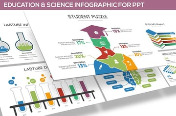 Science Infographics for PowerPoint