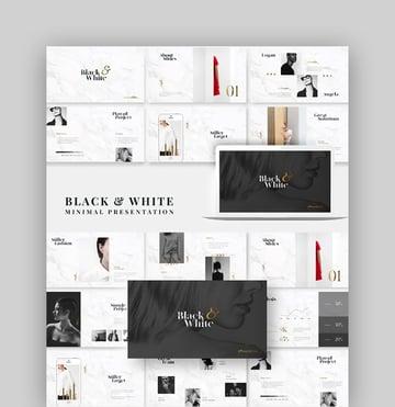 Elegant Marble PowerPoint Presentation Template