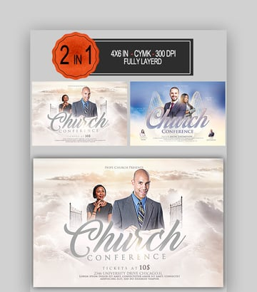 Church Conference Flyer Bundle