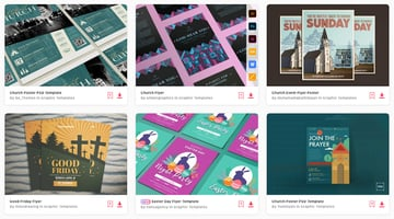 Choose from thousands of top church flyer templates from Envato Elements