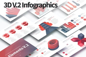 3D Elements V2 a premium professionally designed PowerPoint template on Envato Elements