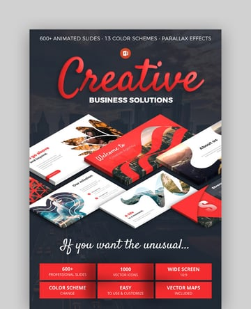 Creative Business PowerPoint Theme