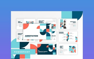 Annotation - Abstract PowerPoint Template Download