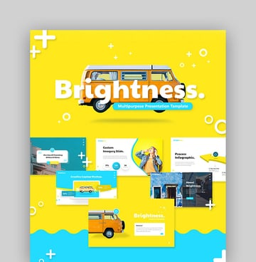 Brightness - Abstract PowerPoint Template Download