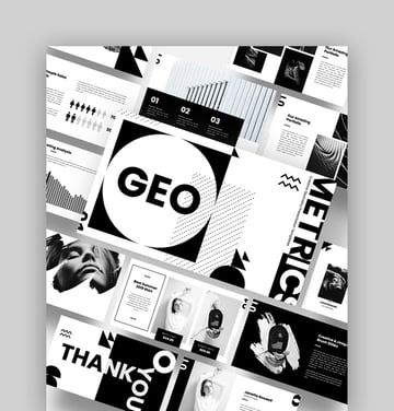 Geo - Abstract PowerPoint Template Download