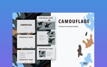 Camouflage - Army Background for PowerPoint