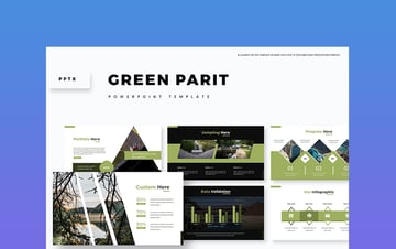 Green Parit - Military Slideshow Template