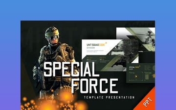 Special Force - Army PPT Slides