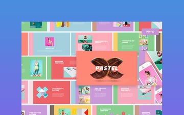 Colorful Pastel PowerPoint Template