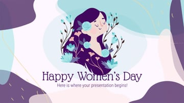 Free Happy Womens Day PPT Template