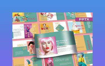 KEUMALA - PowerPoint Background Pastel
